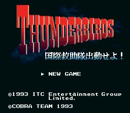 Thunderbirds - Kokusai Kyuujotai Shutsugeki Seyo!