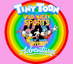 Tiny Toon Adventures - Dotabata Dai Undoukai