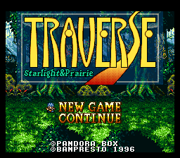 Traverse - Starlight & Prairie