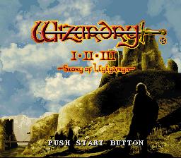 Wizardry I-II-III - Story of Llylgamyn
