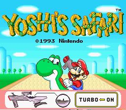 Yoshi no Road Hunting
