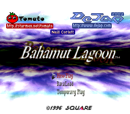 Bahamut Lagoon English