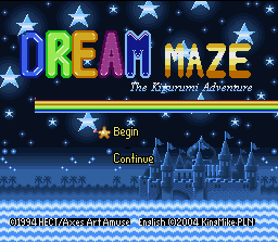 Dream Maze - The Kigurumi Adventure English