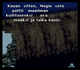 Final Fantasy 3 Finnish