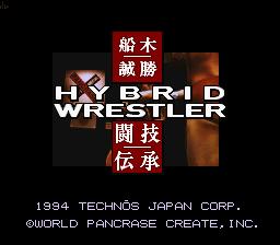 Funaki Masakatsu Hybrid Wrestler - Tougi Denshou