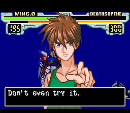 Gundamwing Endless Duel English
