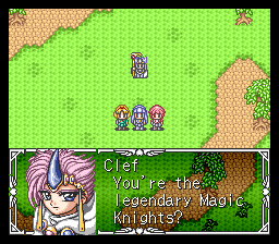 Magic Knight Rayearth English