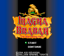 Magna Braban - The Wandering Hero English