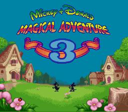 Mickey & Donald 3 English