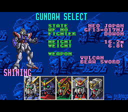 Mobile Fighter: G Gundam