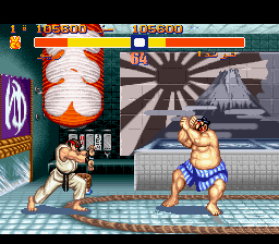 Street Fighter 2 - The World Warrior Arabic