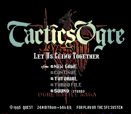Tactics Ogre - Let Us Cling Together English