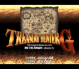 Treasure Hunter G English